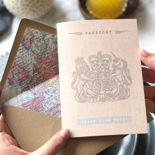 Passport Card - Perfect for that Travel Friend - Designed by Rodo Creative