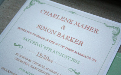 Traditional Wording – Wedding Invitations