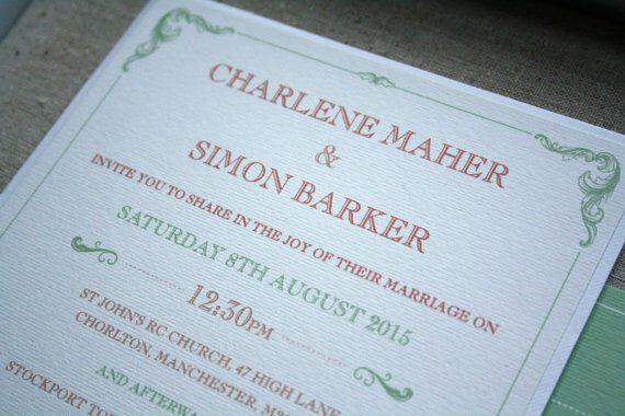 Traditional Wording – Wedding Invitations