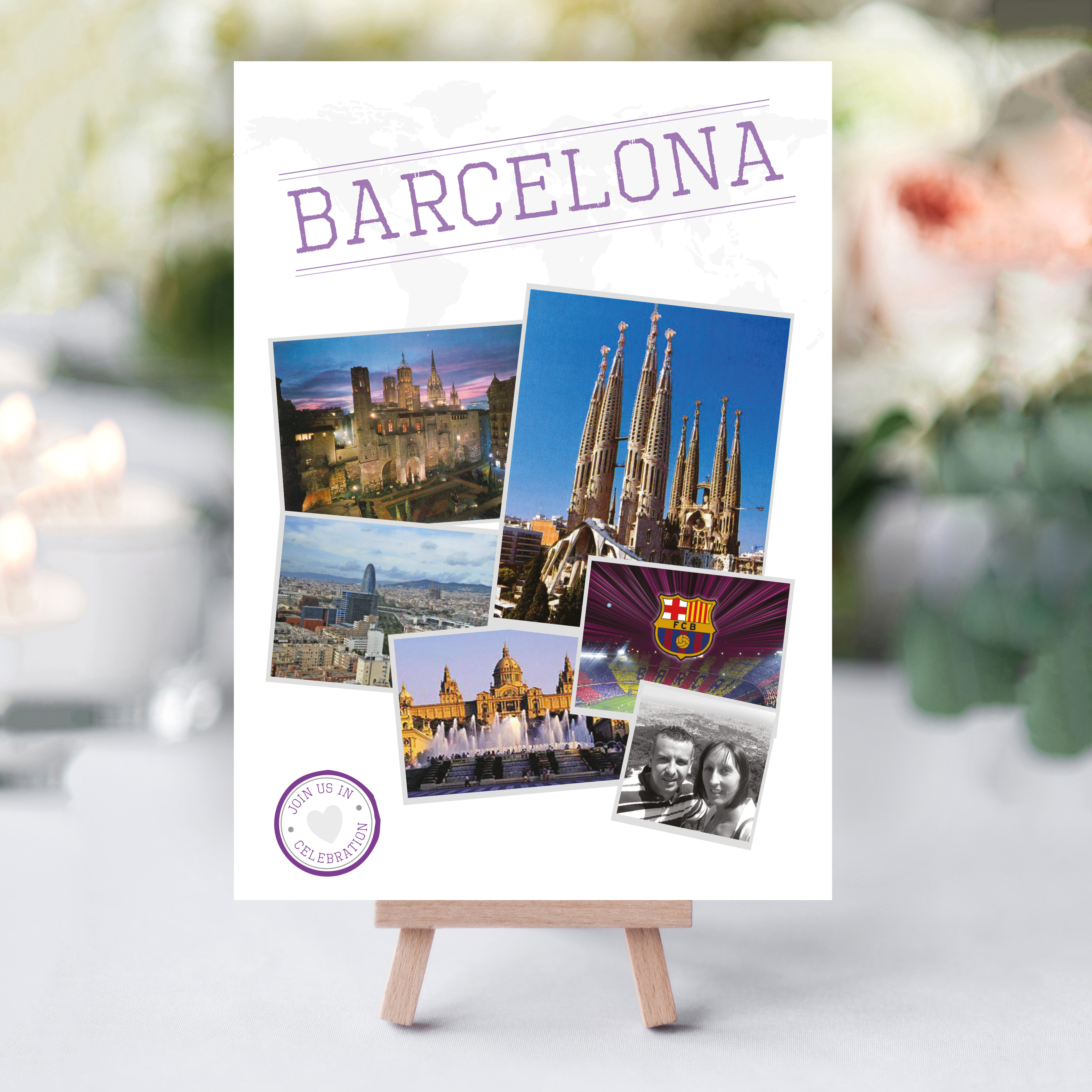 Destination Table Names Perfect for the travel lover at their wedding - By Rodo Creative