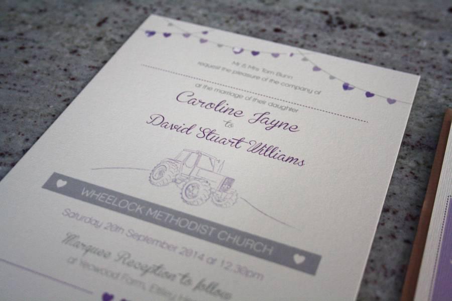 Farm Wedding Invitation Bundle Rodo Creative