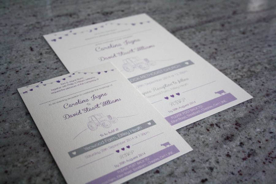 Wedding Invitations Manchester: Farm Wedding Invitation Bundle Designed By Rodo Creative