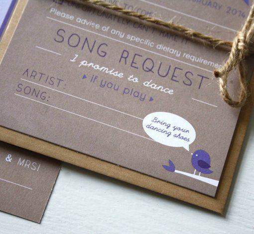 Love Bird Wedding Invitation Bundle - designed by Rodo Creative in Manchester