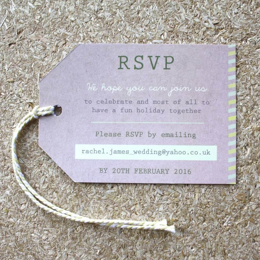 Passport Wedding Invitation Travel Booklet designed in Manchester by Rodo Creative