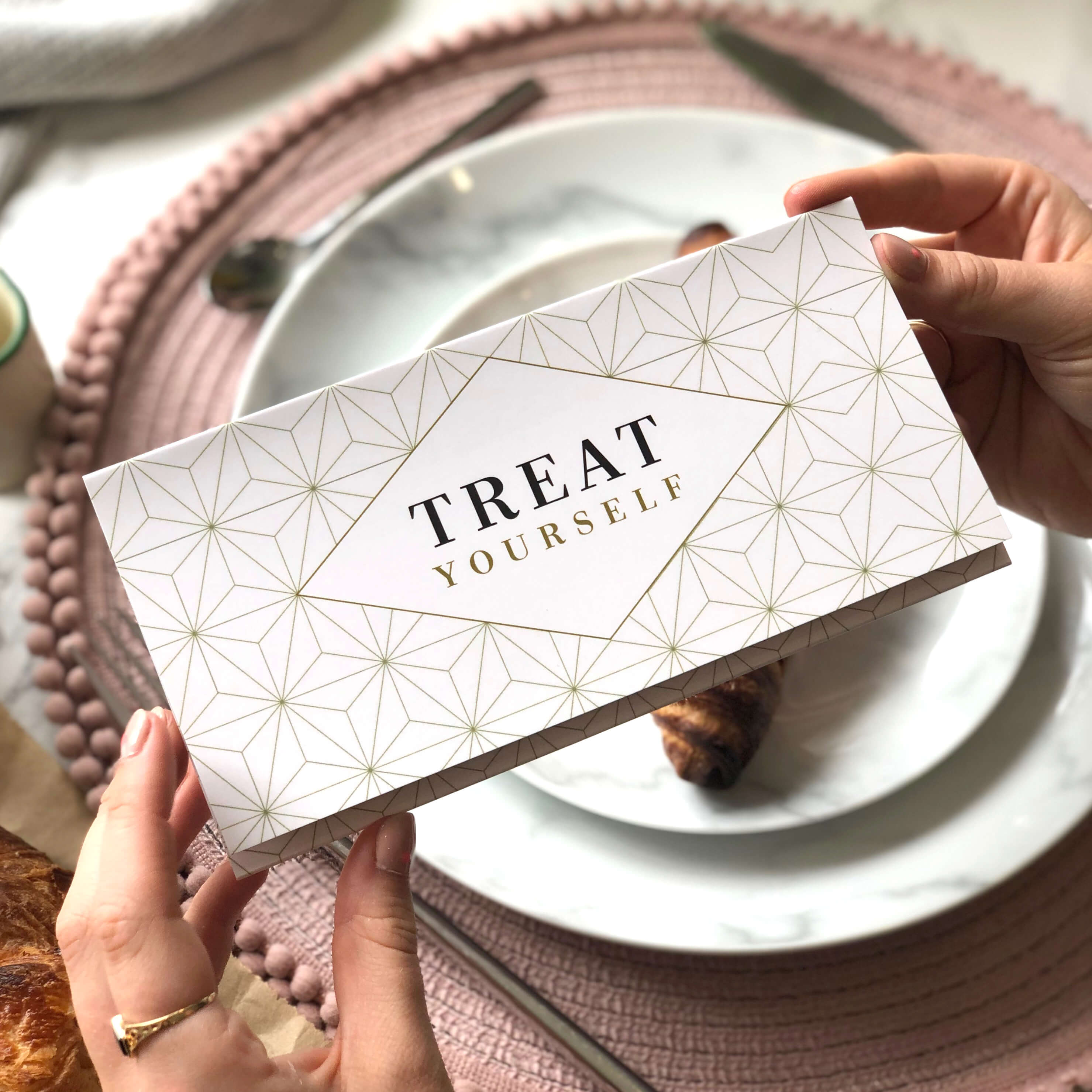 Treat Yourself Money Wallet perfect for giving money or vouchers at Weddings or other occasions