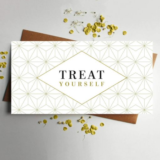 Treat yourself money wallet for vouchers or cash