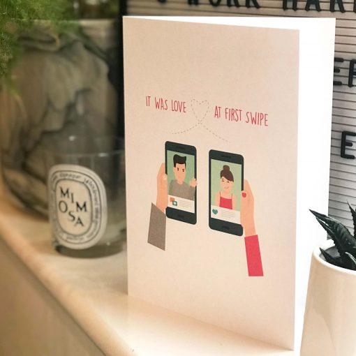 Love at First Swipe Card