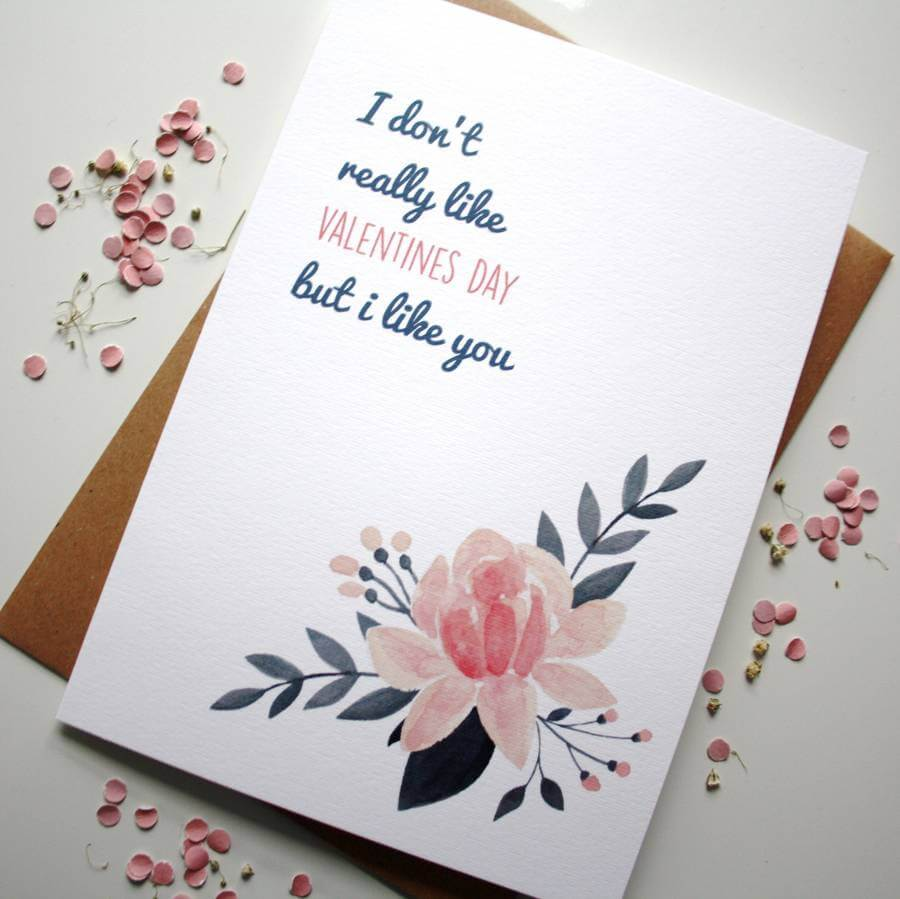 I don't really like Valentine's Day Card - designed by Rodo Creative