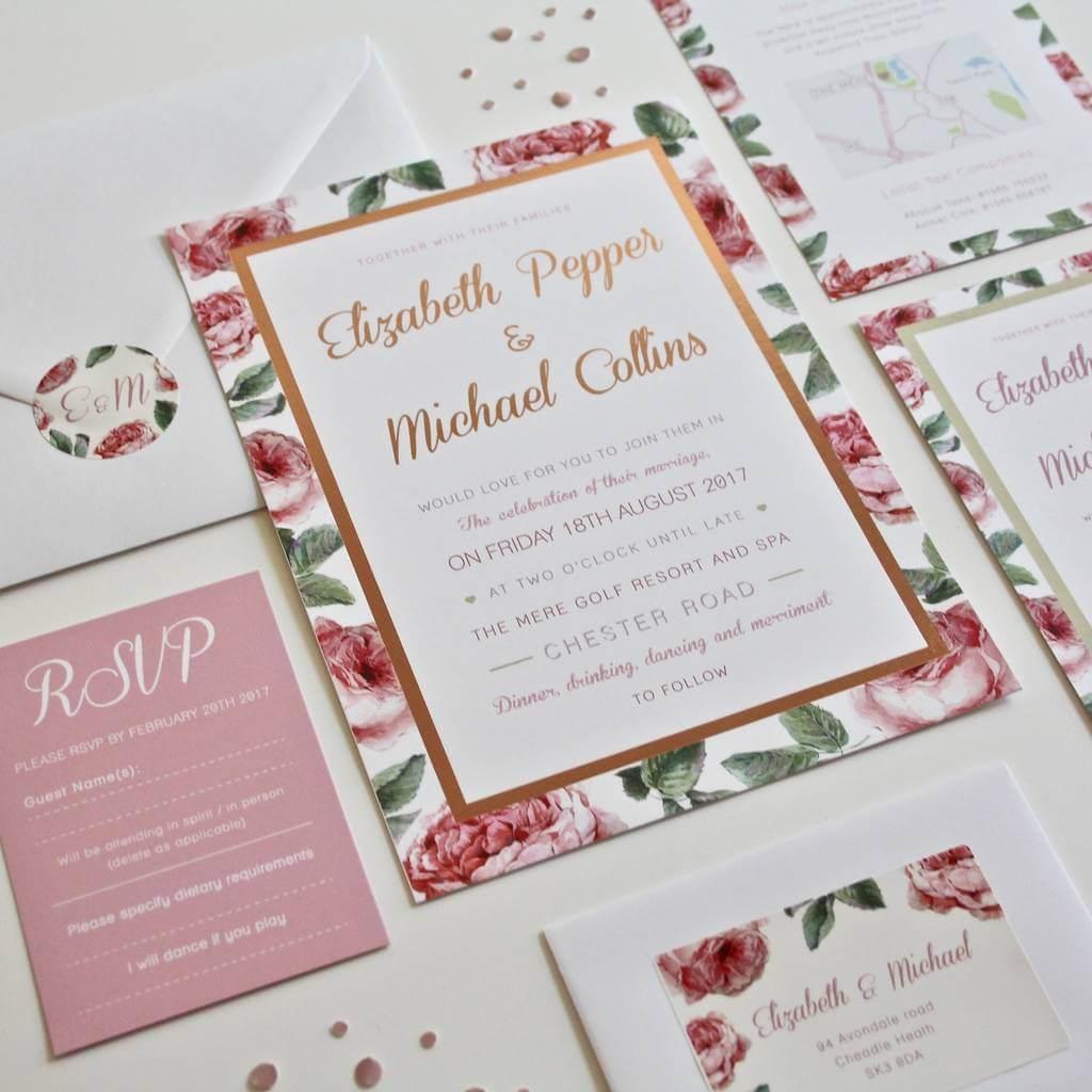 Exelent Lovebird Wedding Invitations Sketch - Invitations Design ...