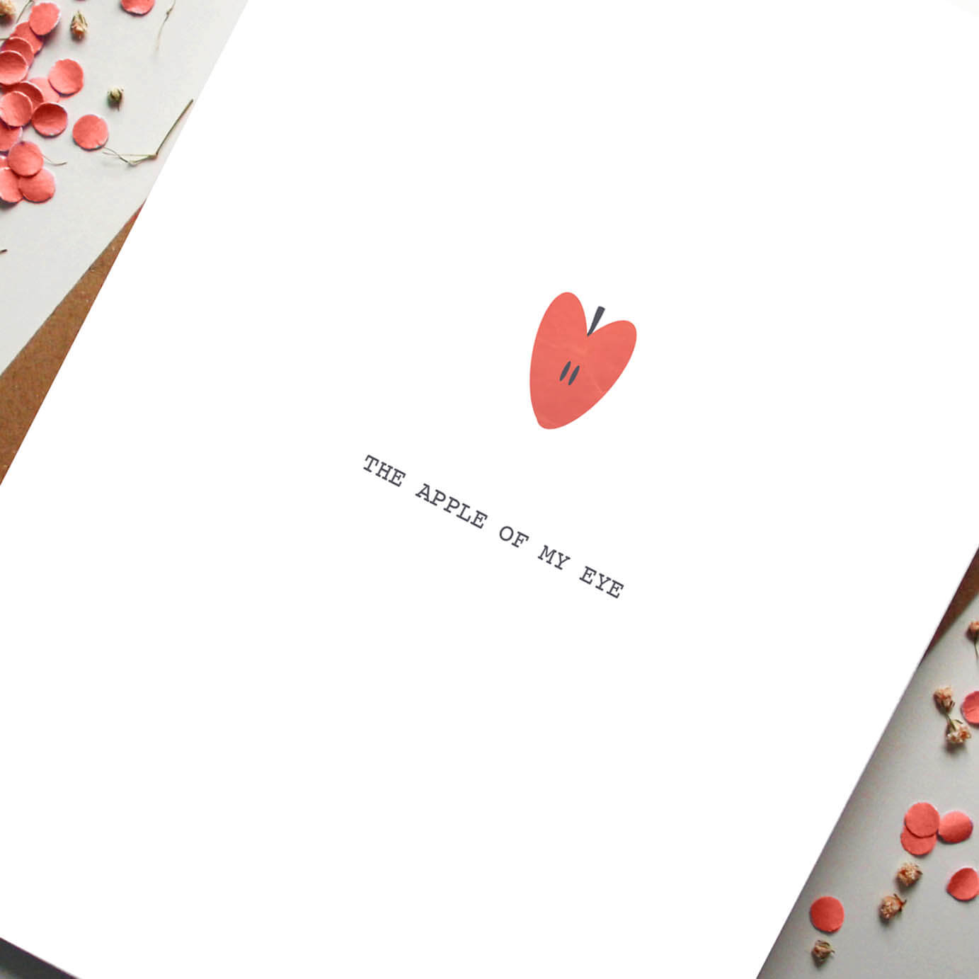 The Apple of My Eye - Designed by Rodo Creative - Based in Manchester