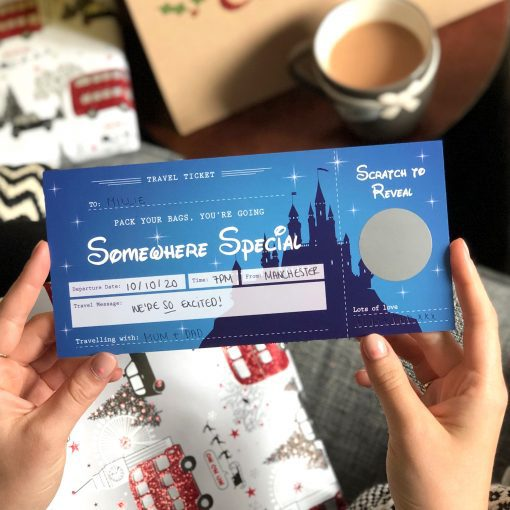 Disney Surprise Scratch Off Ticket - Designed by Rodo Creative