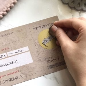 Vintage Scratch Off Boarding Pass Travel Gift - Designed by Rodo Creative