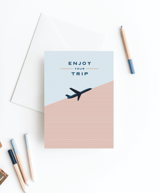 Travel Card - Greetings Card Designed by Rodo Creative in Manchester
