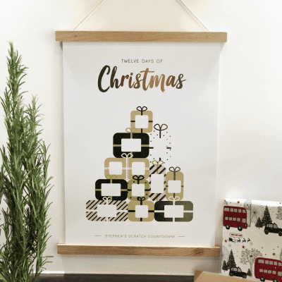 Scratch Countdown Advent Calendar - Designed by Rodo Creative