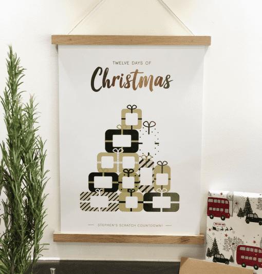 Scratch Countdown Advent Calendar - Designed by Rodo Creative