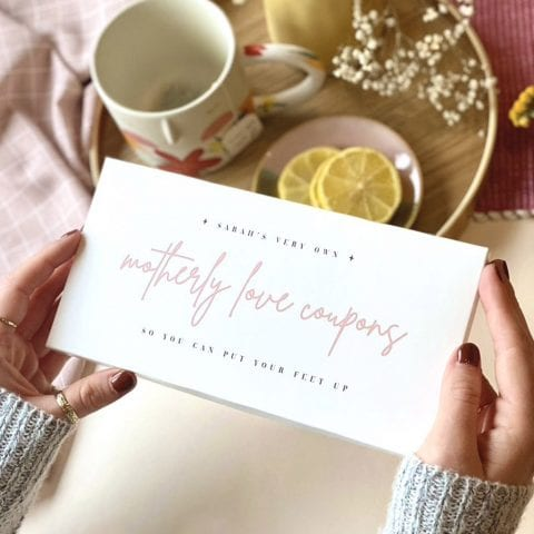 Motherly Love Coupons, Mother's Day Cards - Designed by Rodo Creative