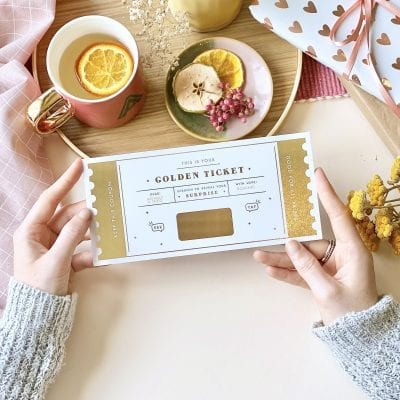 The Golden Ticket - Designed by Rodo Creative