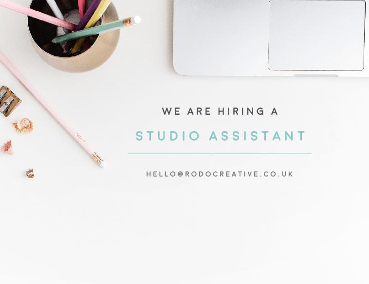 Studio Assistant Role!