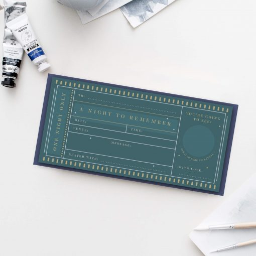 Theatre Scratch Off Ticket - Designed by Rodo Creative