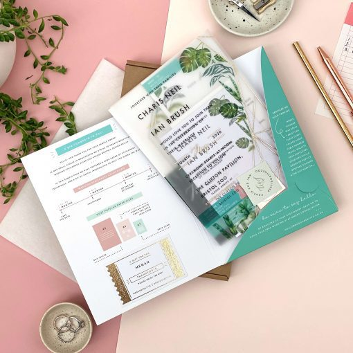Sample Pack for all your wedding stationery needs By Rodo Creative, Manchester