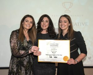 Winners Rodo Creative at the English Wedding Awards - Best Stationery Supplier 2019