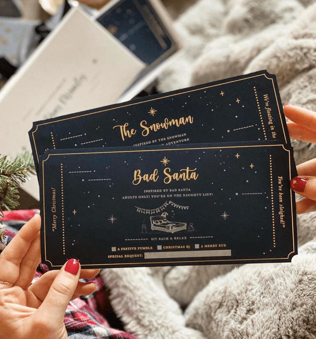Your little box of Christmas Miracle Coupons - Designed by Rodo Creative