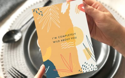 NEW Valentine's Day Cards – Bold, Colourful and Eco Friendly – Hot off the Press!