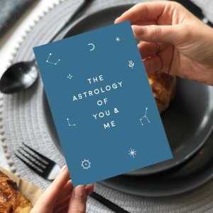 Astrology Of Me And You Love Card - Designed by Rodo Creative in Manchester