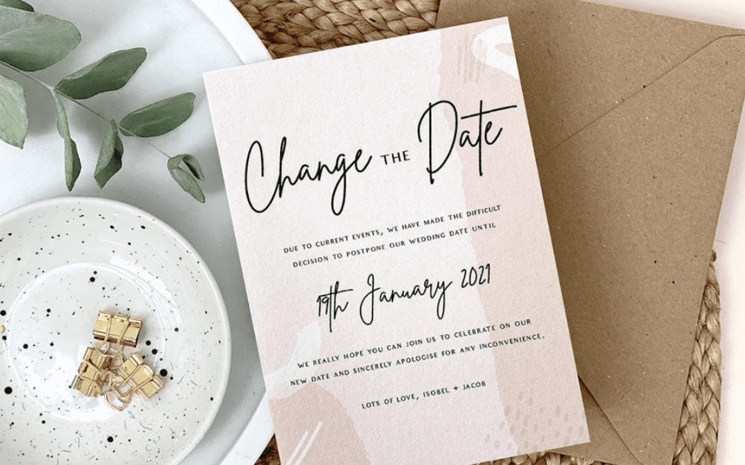 Change the Date – Now offering Printed A6 cards!