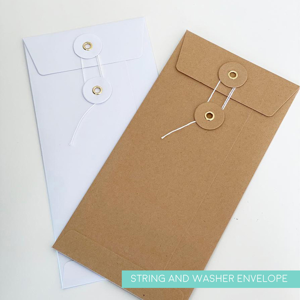 String and Washer Envelope