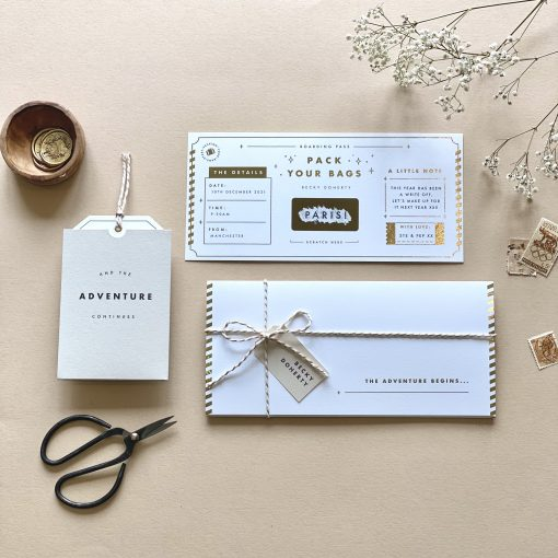 Luxury Travel Announcement With Scratch Reveal - Designed by Rodo Creative