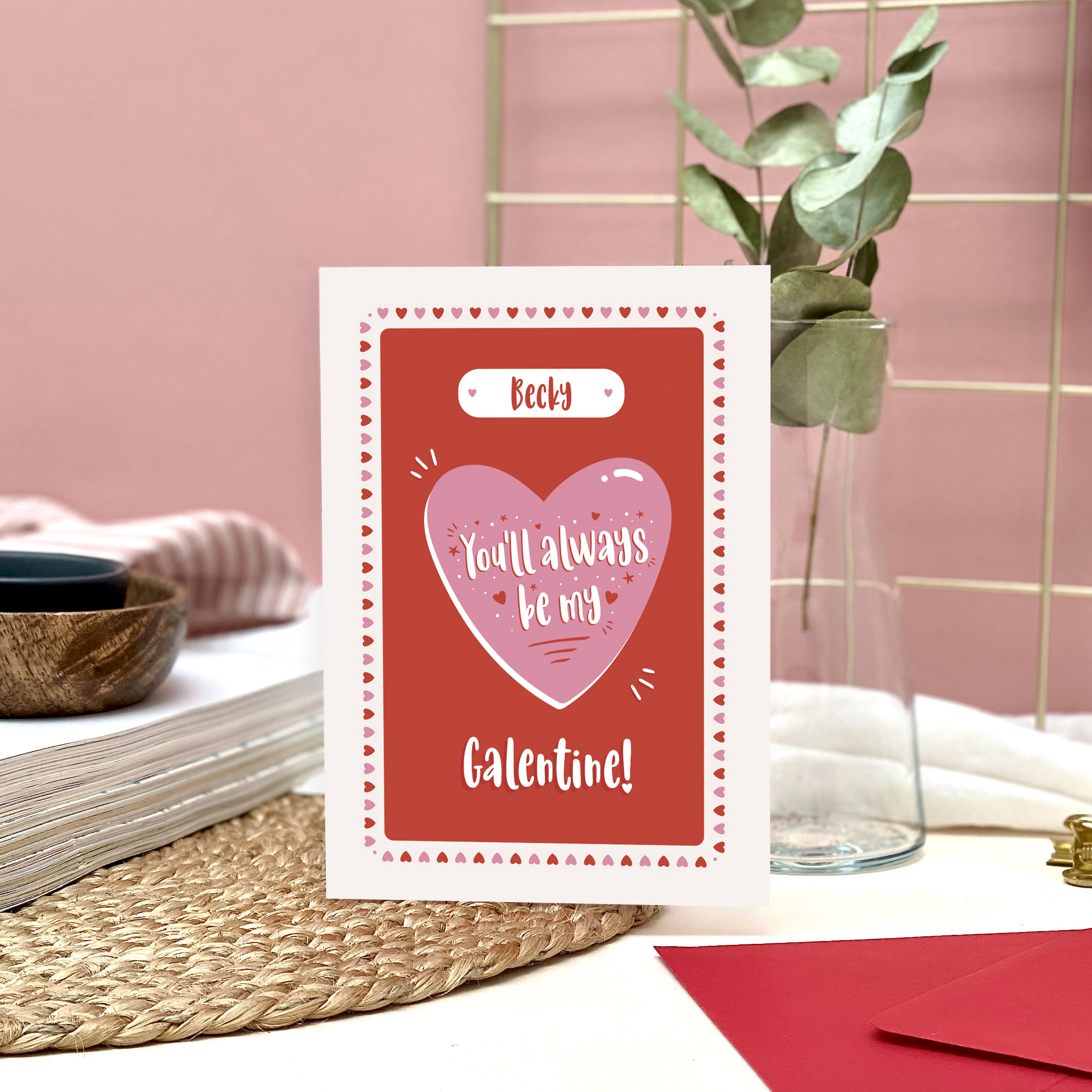 Personalised Galentine's Day Card - Designed by Rodo Creative